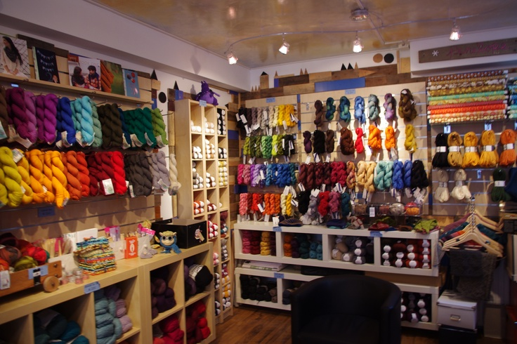 One of the few yarn stores in Amsterdam.    Beautiful selection, well organized and designed.  Owned by a young American woman, Penelope, who wante to open a store in her favorite European city.