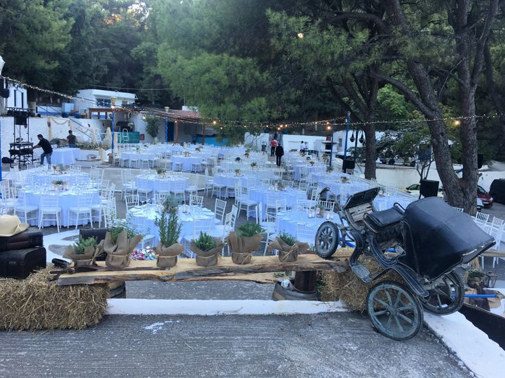 country style at Saint Amon venue in Rhodes