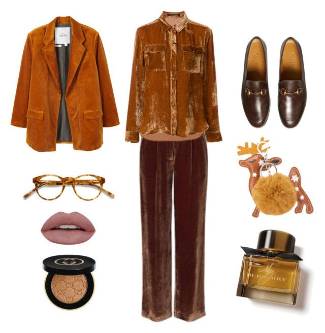 """""""18.01.06"""" by chicwomens on Polyvore featuring Gucci, MANGO, LUISA CERANO, EyeBuyDirect.com, Burberry and brown"""