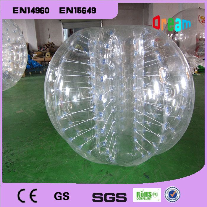 Good Quality 1.5m TPU Inflatable Bubble Soccer Suit Loopy Ball Human Hamster Ball Zorb Body Ball Bubble Football For Sale