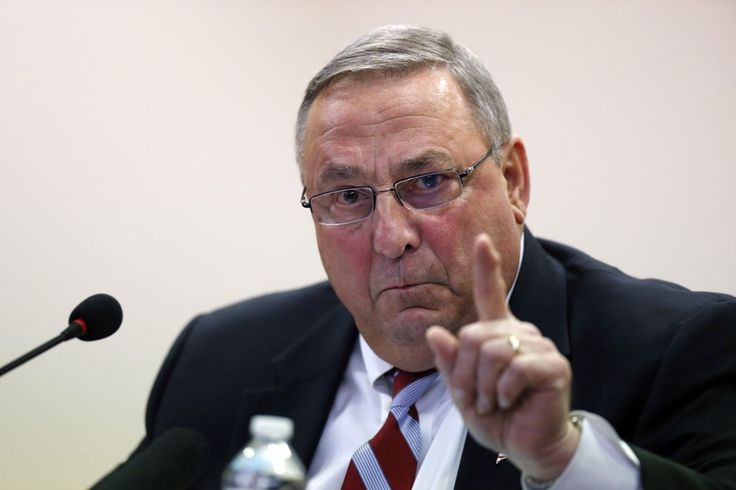 Maine Governor Paul LePage Says He Might Resign After Uproar Over Racist Comments - The Atlantic
