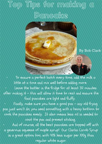 How to make a good pancake #Pancake #recipe #ShroveTuesday #Tips