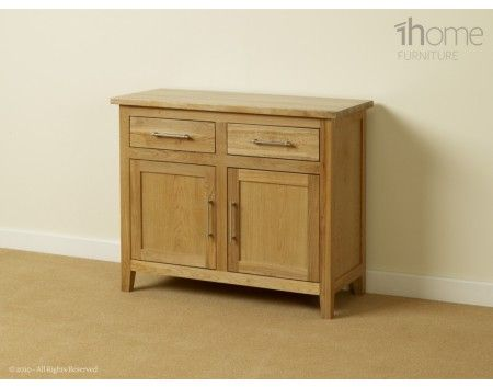 Small oak sideboard 2 doors 2 drawers £299