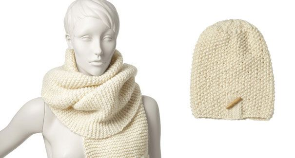 Knit white this winter! Knitkits from muchis.se