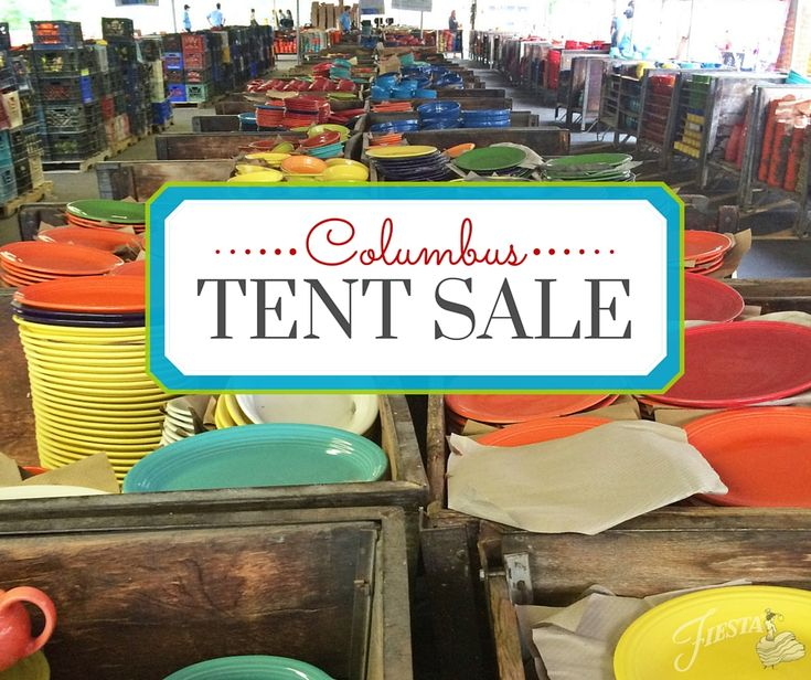 Columbus Everything Fiesta's Tent Sale: September 17 - 20, 2015 | all your questions answered @ alwaysfestive.com