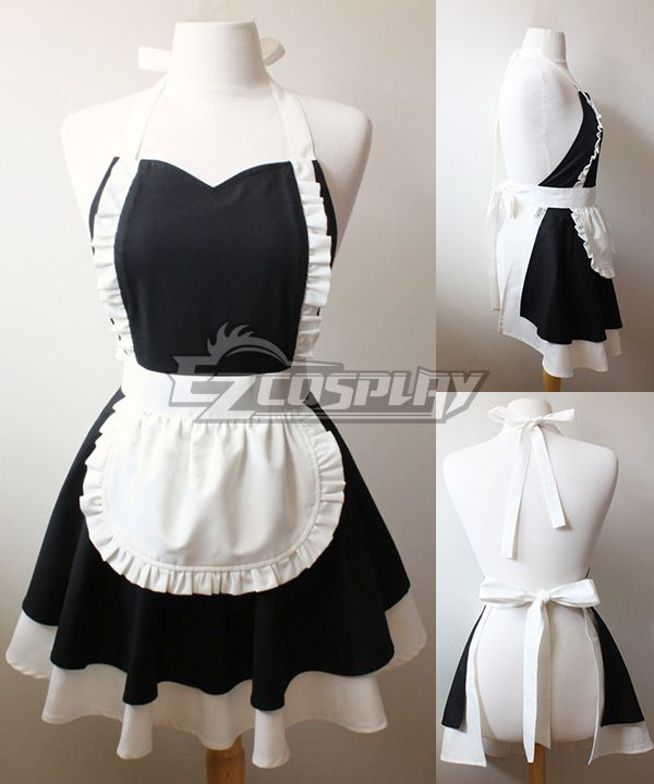 Lolita French Maid Cotton Household Apron Cosplay #Everyone Can Cosplay! Cosplay costumes #Anime Cosplay Accessories #Cosplay Wigs #Anime Cosplay masks #Anime Cosplay makeup #Sexy costumes #Cosplay Costumes for Sale #Cosplay Costume Stores #Naruto Cosplay Costume #Final Fantasy Cosplay #buy cosplay #video game costumes #naruto costumes #halloween costumes #bleach costumes #anime