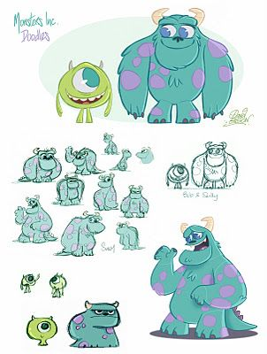 Monsters, inc. by David Gilson