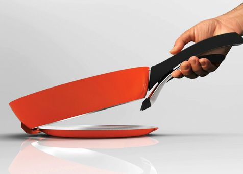 Split Frypan | Red Dot Design Award for Design Concepts