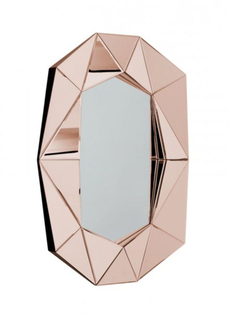 Speil fra Reflections Copenhagen  7650,-  https://www.eskeinterior.no/produkt/speil-diamond-large/