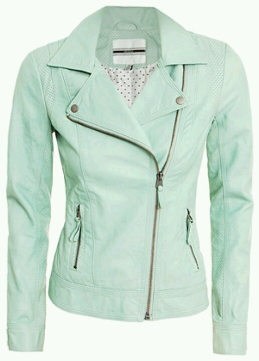 ..Mint.. :) I NEEEEED this!!!! This is the mint jacket ive been looooking for!