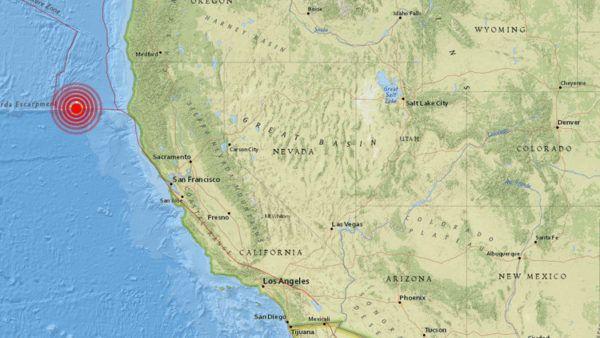 (adsbygoogle = window.adsbygoogle || []).push();   Un terremoto de magnitud 5,7 se ha producido este viernes en el océano Pacífico frente a la costa norte de California, según reporta el Servicio Geológico de EE.UU. (USGS). El epicentro del sismo, que tuvo lugar a 204 kilómetros de...