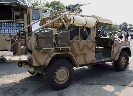 Das Patrouillenfahrzeug Sandviper II wurde für den Einsatz des Jagdkommandos im Tschad entwickelt und ist mit einem 12,7 mm und einem 7,62 mm MG bewaffnet. Von der Version II wurden bislang 8 Fahrzeuge hergestellt (insges. 20 Stück). Basis sind gebrauchte Puch G 290LP.