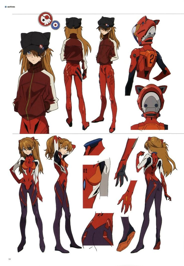 Evangelion 3.0 Character And Mecha Designs