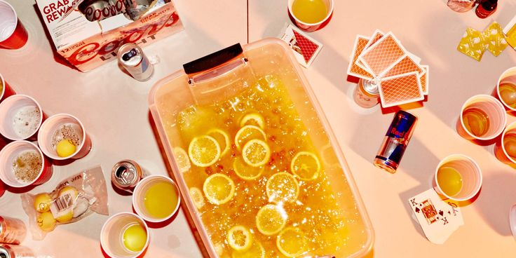 How to Make Jungle Juice With Whatever's in Your Fridge