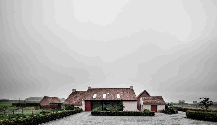 Реконструкция фермы под семейную резиденцию в Бельгии