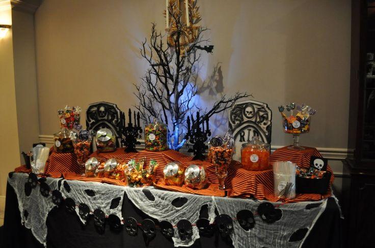 Halloween Candy Buffet 1024x680 How to Create a Halloween Candy Buffet