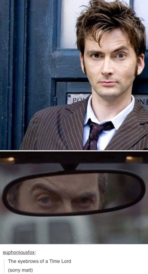 The eyebrows of a Time Lord #doctor #who