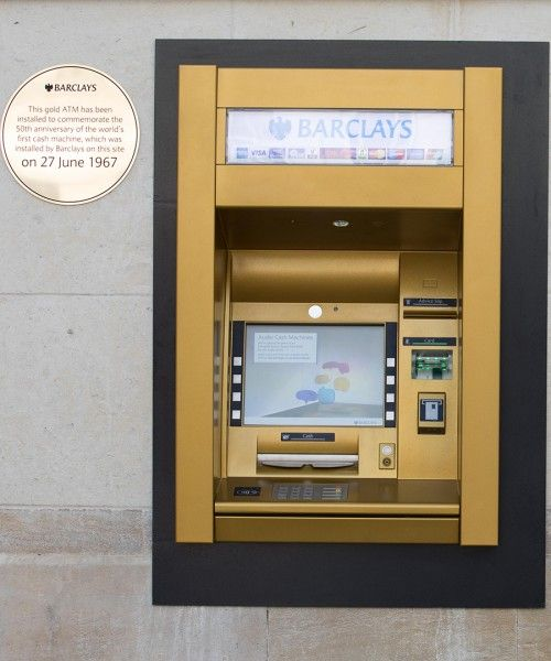 London Now Has an ATM Made of Gold - DuJour
