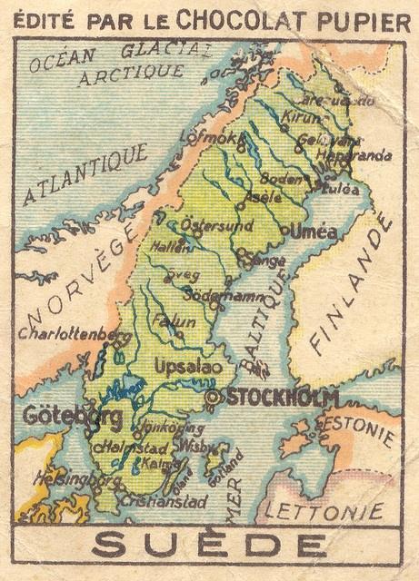 gammal karta