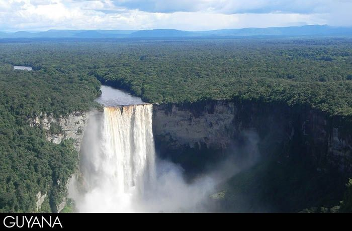 The epic adventure to South America (the Kaieteur Falls)