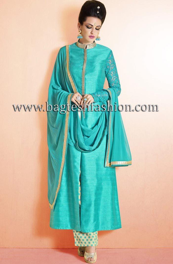 Beautiful Sky Blue Designer Suit                                                                                                                                                                                 More
