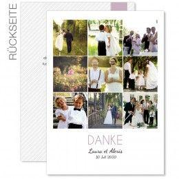 Hochzeitsdanksagungen Foto - Bühnenreif - Carteland