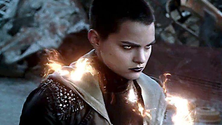 Negasonic teenage Warhead from Deadpool -  Actress: Brianna Hildebrand