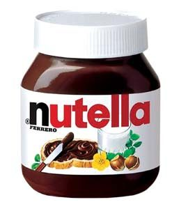 Nutella deliciousness in a jar:) yumm!!
