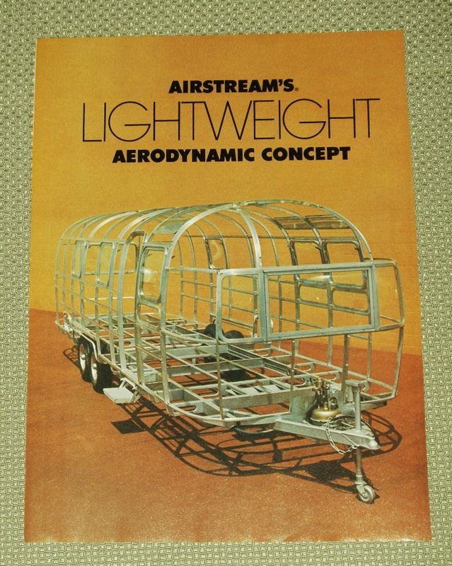 Vtg 1978 AIRSTREAM Camper Print Ad
