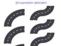 123 Lesidee - Gr1/2 Th verkeer plaat