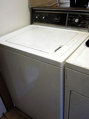how to take apart a whirlpool washing machine