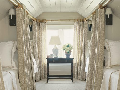 Cool for unused attic space if you have guests often. Bunk room - gorgeous yet functional. For my loved ones!