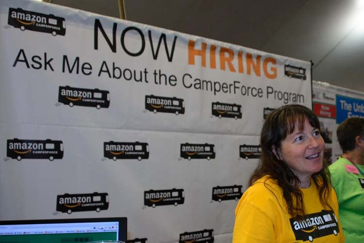 We learned about making money RV workamping with Amazon CamperForce at their booth at the Quartzsite Arizona RV Show http://roadslesstraveled.us/rv-workamping-making-money-with-amazon-camperforce/