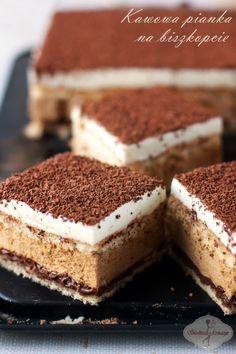 Ciasto kawowa pianka / Coffee mousse cake