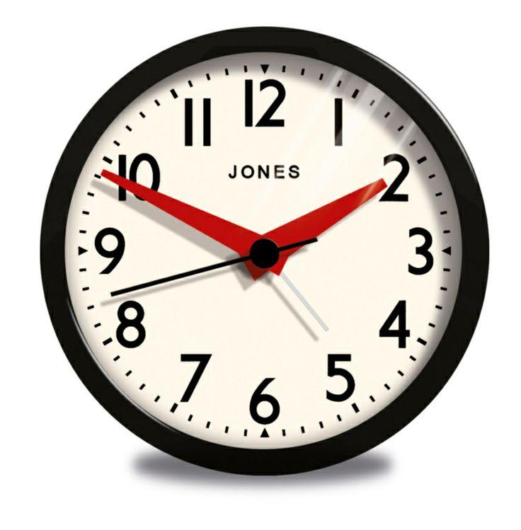 Black Kitchen Clock Argos: 17 Best Images About Jones Clocks In Stores On Pinterest