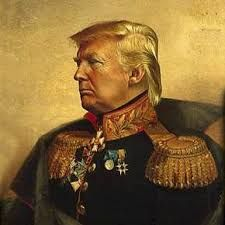 Trump and his America