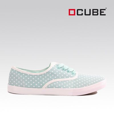 Cube Stoffsneaker in Mint - zum Produkt: http://ch-de.voegele-shoes.com/058201593