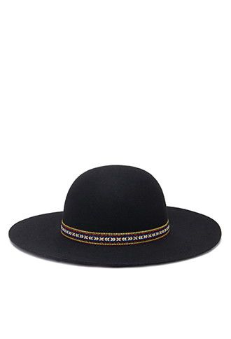 Embroidered Band Floppy Hat | Forever 21 - 2002247299