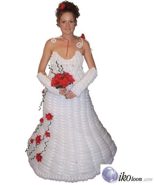 Crazy wedding trends dresses