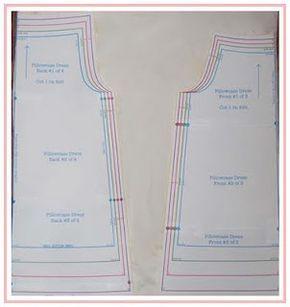 Kissenbezug Kleid Tutorial (mit Kopfkissenbezüge) und freies Muster ab Größe 6 Mo. - 6 yr.