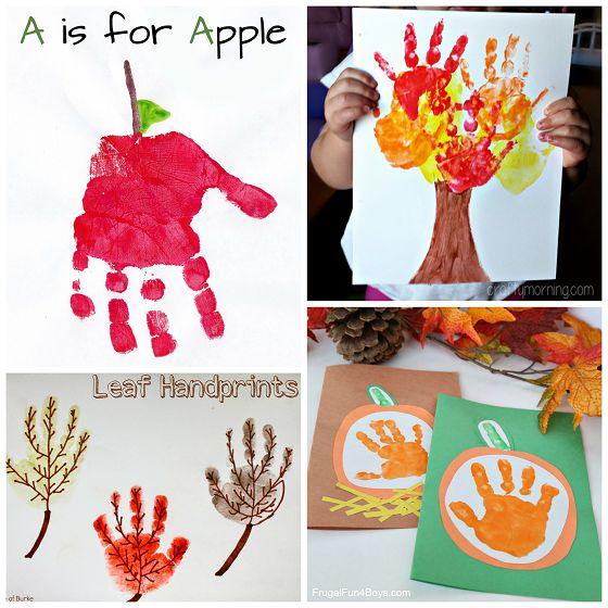 Fall Handprint Craft Ideas for Kids - Crafty Morning