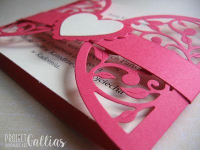 ProjectGallias: #projectgallias, Wedding invitations, Zaproszenia ślubne, na ślub, 100% handmade