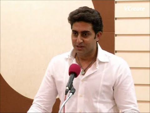 abhishek bachchan's speech at the inauguration of social media lab of mumbai police.