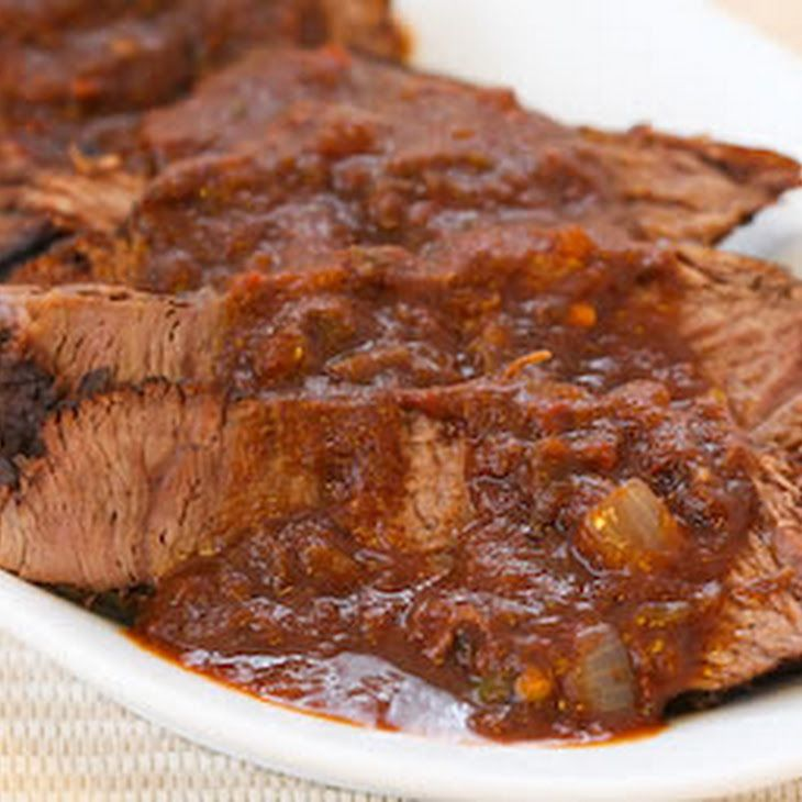 Southwestern Pot Roast Cooked in the CrockPot Recipe Main Dishes with ...
