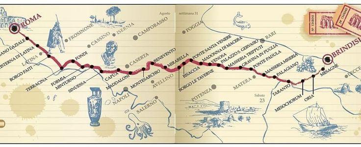 Alla ricerca dell'Appia perduta: da Roma a Brindisi il viaggio di Paolo Rumiz
