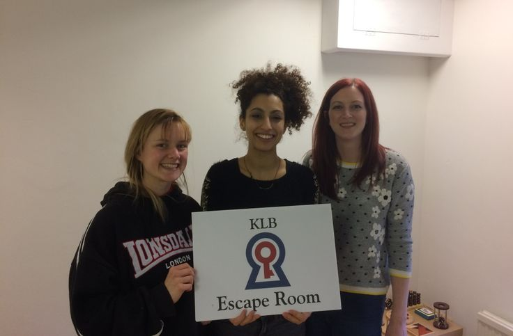 Team Olivia and her Detectives Escape The Room in 45 Minutes   KLB Escape Room