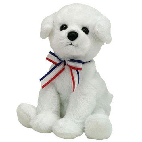 TY Beanie Baby - FIREWORKS Dog (BBOM July 2007) (5 inch)