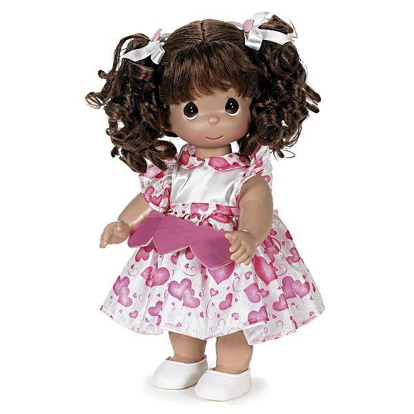 """Кукла """"Сердце"""" брюнетка 30см, Precious Moments (Драгоценные Моменты) - Игрушки купить со скидкой."""
