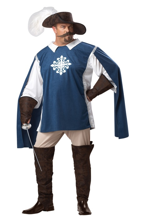 musketeer plus size costume mustache moustache halloween 5195 - Halloween Costume Ideas Mustache