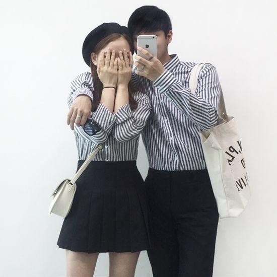Korean Couple Fashion  Outfits ideas for couples ♥                                                                                   ...